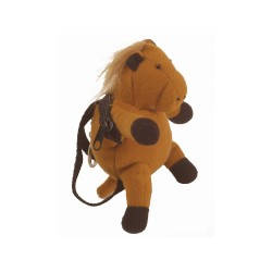 LLAVERO MINI PONY FELPA