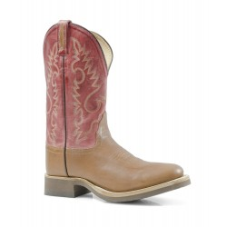 Botas WESTERN OLD WEST POINT Segunda ronda TONO MARRONEROSSICCIO