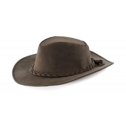 sombrero WESTERN IN piel superior LUX BRAID